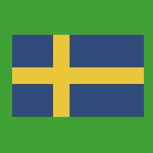 Suède au vert